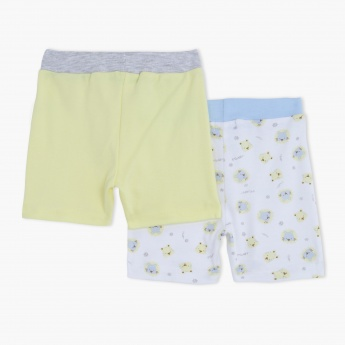 Shorts with Elasticised Waistband -  Set of 2