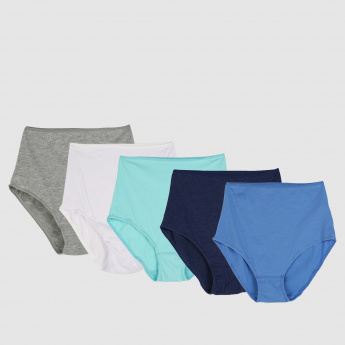 High-Cut Briefs - Set of 5