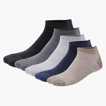 Ankle Length Socks - Set of 5