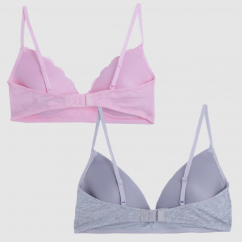 Soft Padded Bra - Set of 2
