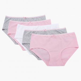 Elasticised Briefs - Set of 5
