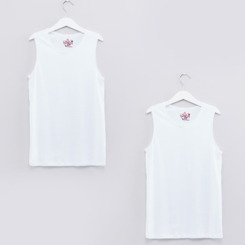 Round Neck Vest - Set of 2