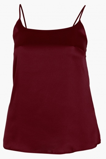 Textured Sleeveless Camisole