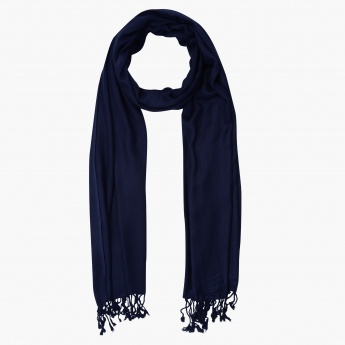 Pashmina Scarf with Fringes