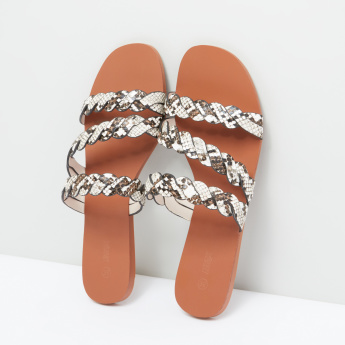 Printed and Patterned Strap Slides