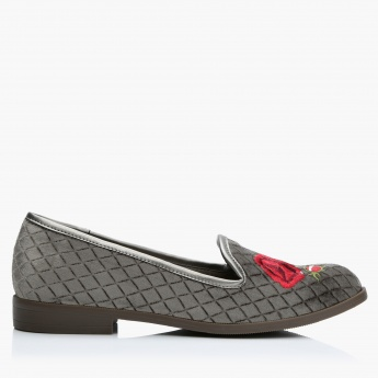 Quilted Slip-On Loafers