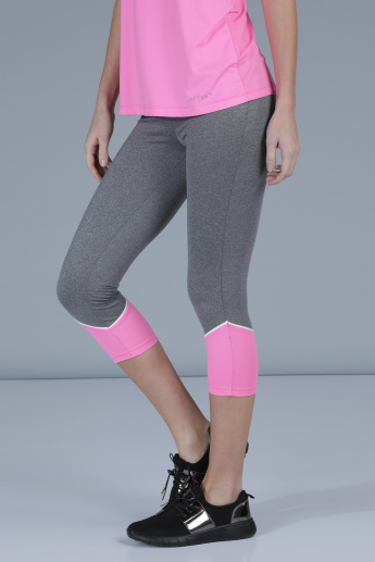 3/4th Leggings with Elasticized Waistband