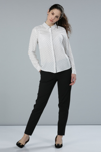Printed Shirt with Long Sleeves