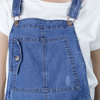 Full Length Denim Dungaree