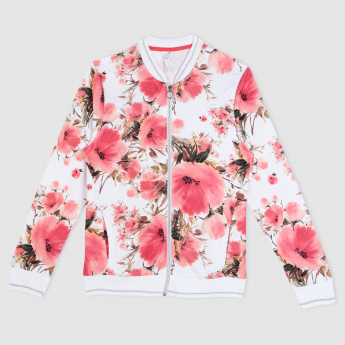 Printed Long Sleeves Jacket