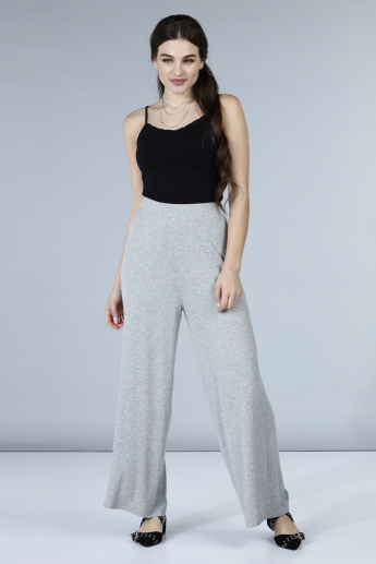 Palazzos with Elasticised Waistband