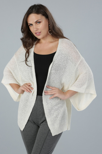 Open Front Sweater Shrug