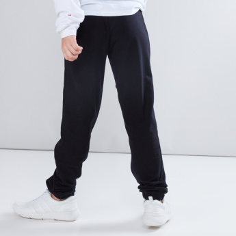 Printed Jog Pants with Drawstring