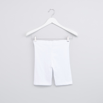 Elasticised Waistband Cycle Shorts
