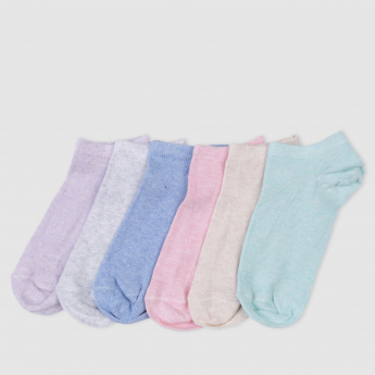 Ankle Length Socks - Set of 6