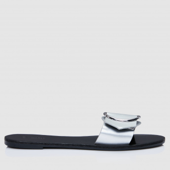 Slides with Buckle Detail