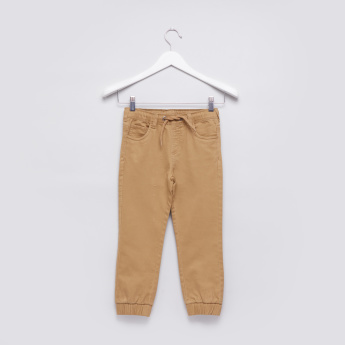 Pocket Detail Jog Pants