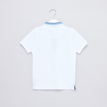 Mandarin Collar Short Sleeves T-Shirt