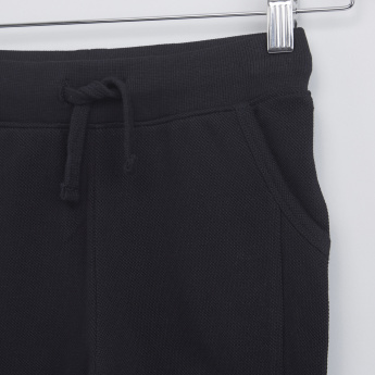 Pocket Detail Shorts with Drawstring