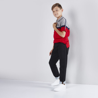Polo Neck Short Sleeves T-Shirt