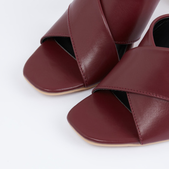 Dual Strap Slip-On Sandals