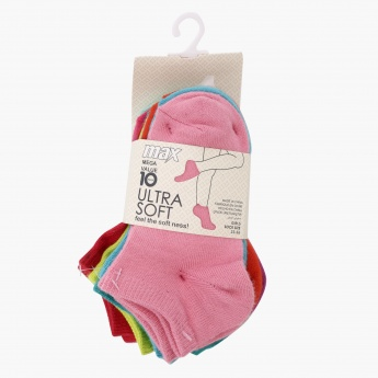 Ankle Length Socks - Set of 10