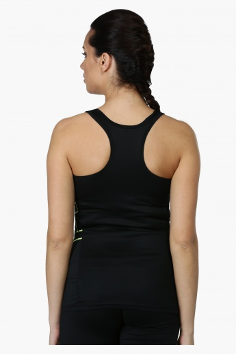 Sleeveless Tank Top with Racer Back