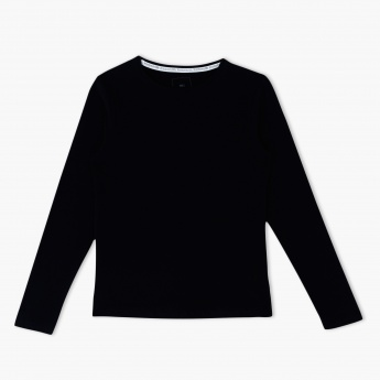 Long Sleeves Round Neck T-Shirt