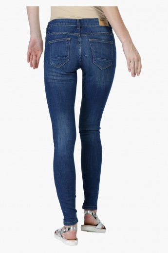Distressed Full Length Jeans