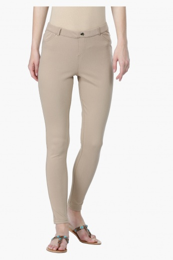 Full Length Mid-Rise Chino Pants