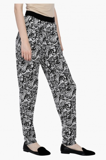 Printed Full Length Pants