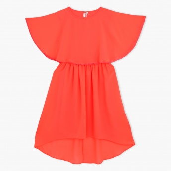 Butterfly Short Sleeves Dress