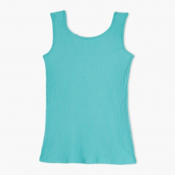 Sleeveless Round Neck Vest