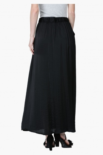 Maxi Skirt with Drawstring