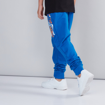 Printed Jog Pants with Pocket Detail