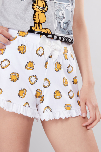 Garfield Printed Shorts