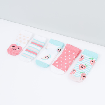 Printed Socks - Set of 5
