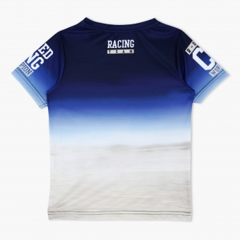 Printed Short Sleeves Crew Neck T-Shirt