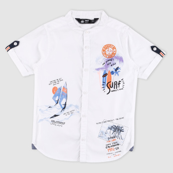 Printed Short Sleeves Shirt