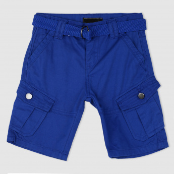 Shorts with Pockets and Belt