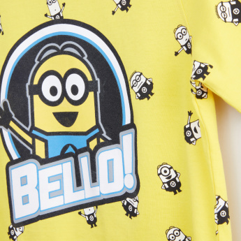 Minions Printed Short Sleeves T-Shirt