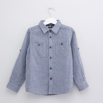 Chequered Long Sleeves Shirt