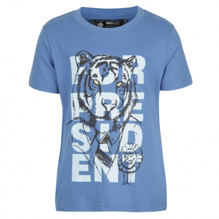 Short-sleeved Graphic Print T-shirt
