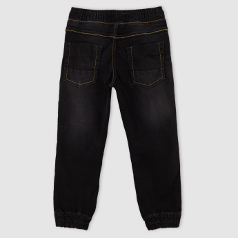 Denim Jog Pants