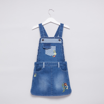 Embroidered Dungarees