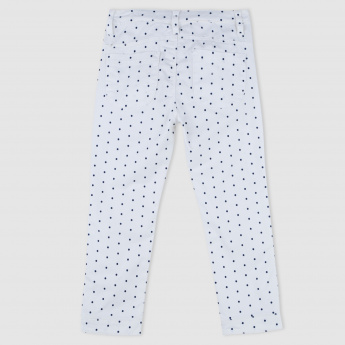 Hello Kitty Polka Dot Print Woven Capris