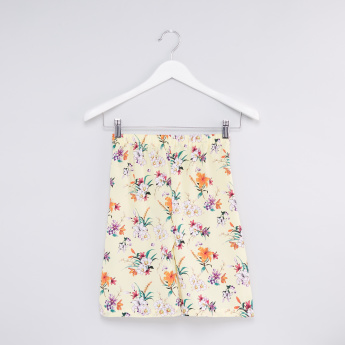Printed Top with Culottes