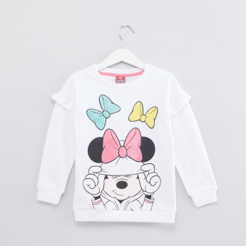 Minnie Mouse Printed Sweat Top