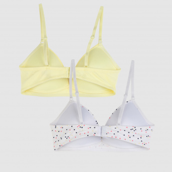 Padded A-Frame Bra - Set of 2