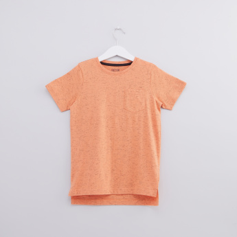 Printed Round Neck Short Sleeves T-Shirt